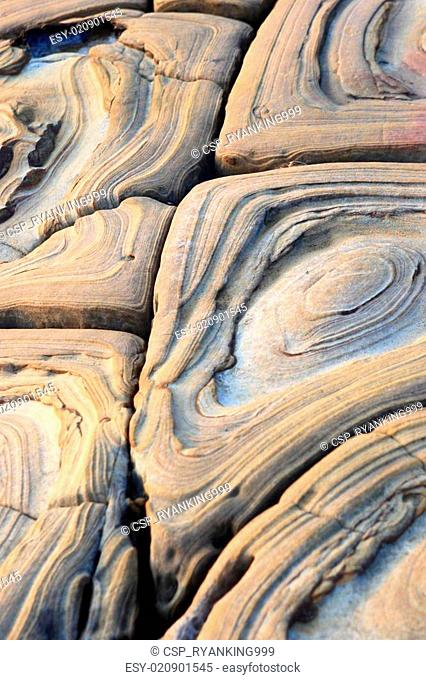 the texture of rock