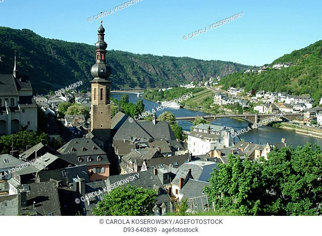 Germany, Rhineland Palatinate, Moselle River Valley. Cochem
