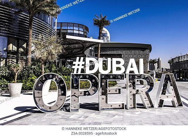 Hashtag Dubai Opera in Dubai