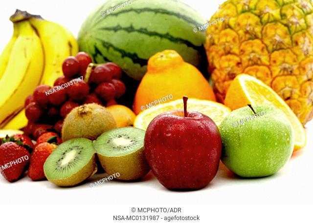 fruit isolated on white