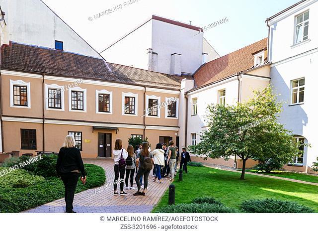 Campus of Vilnius University. Vilnius, Vilnius County, Lithuania, Baltic states, Europe