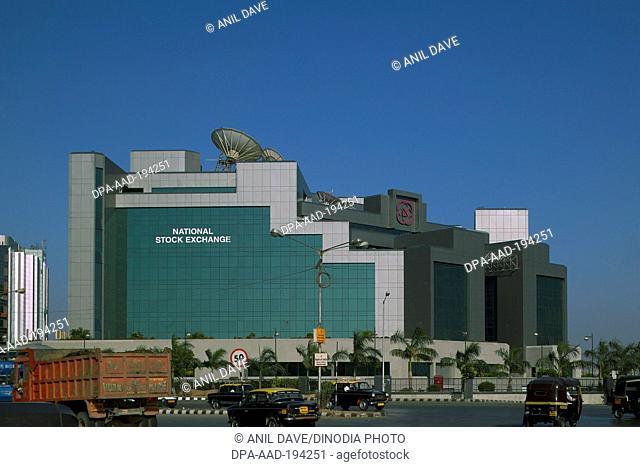 National stock exchange, bandra kurla complex, mumbai, maharashtra, india, asia