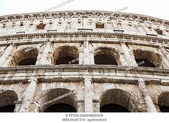 The Coliseum, amphitheatre in Ancient Rome