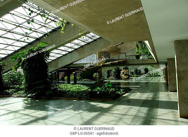 National theater Cláudio Santoro, City, Distrito Federal, Brasília, Brazil