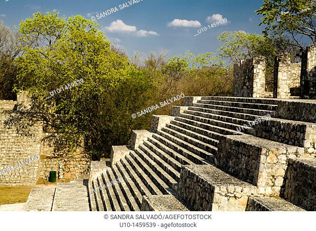 Edzná Archaeological Site, Yucatan Peninsula, Mexico