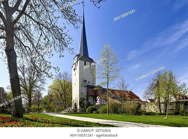Klagetor in Bad Langensalza, Thuringia, Germany