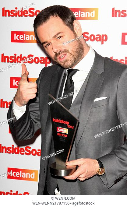 Inside Soap Awards 2014 held at the DSTRKT London - Arrivals Featuring: Danny Dyer Where: London, United Kingdom When: 01 Oct 2014 Credit: WENN.com