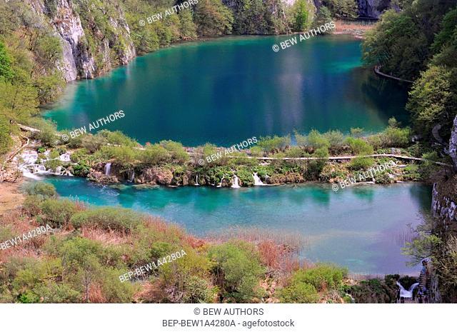 Croatia, Plitvicka Jezera, Plitvice Lakes National Park, Plitvice Lakes National Park