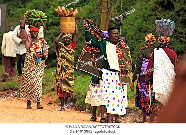Town of Kisoro, Uganda, East Africa