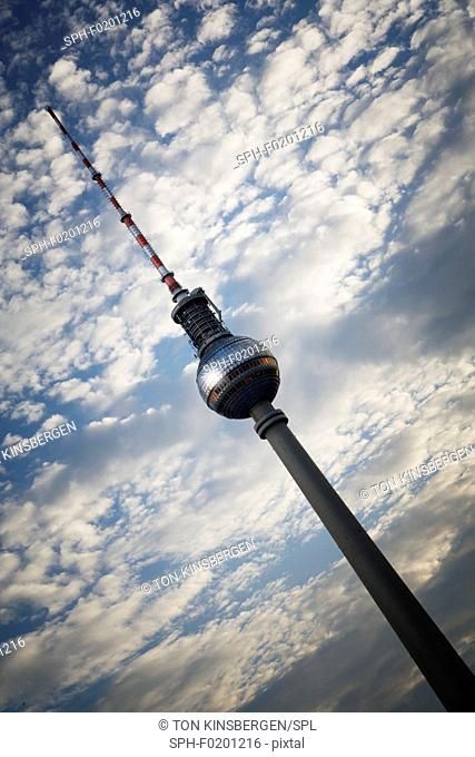 Fernsehturm to tower