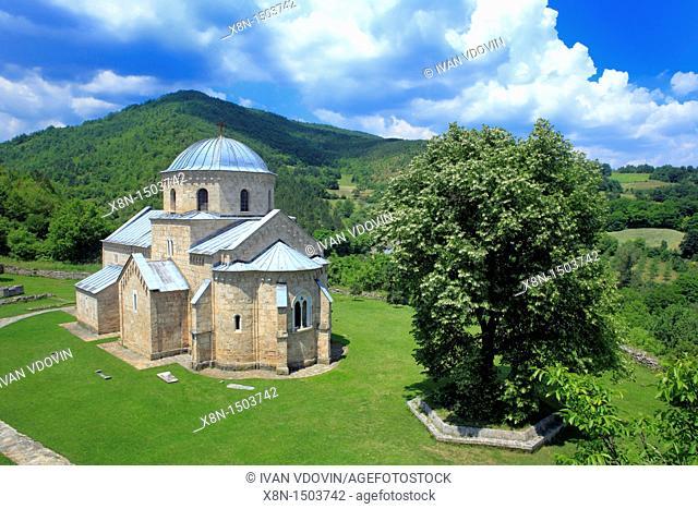 Annunciation church of Gradac Monastery c  1275, Raska district, Serbia