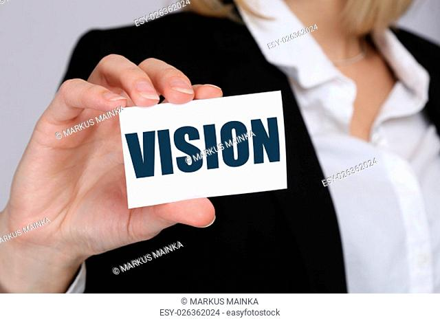 vision idea ideas future perspective of hope success successful business concept visions