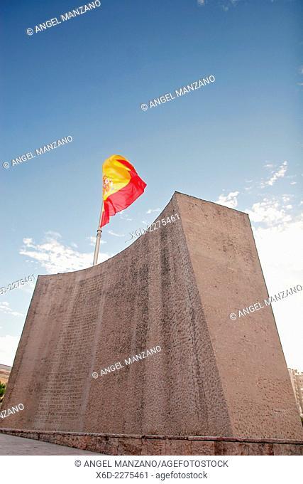 Colon square and Columbus monumet, Madrid