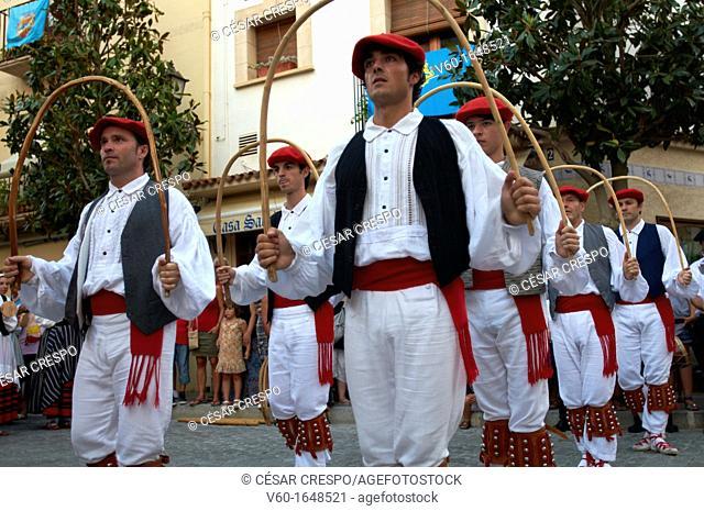 "-Traditional ""Vascos"" Dancers- Spain"