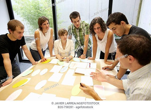 Innovation school, creative meeting, Fatronik-Tecnalia, Research and Technology Center, Donostia, Basque Country, Spain