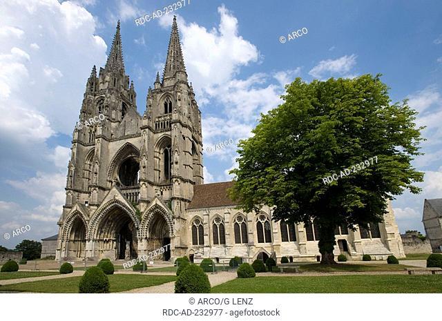 Abbey Saint-Jean-Vignes, Soissons, Picardy, France, Abbaye Saint-Jean-Vignes
