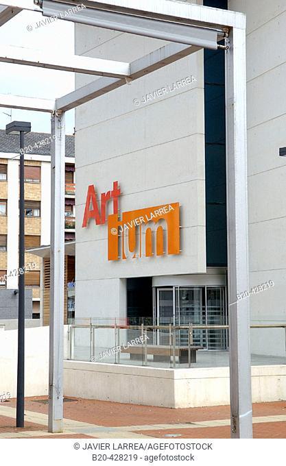 Artium Museum. Vitoria-Gasteiz. Alava. Euskadi. Spain