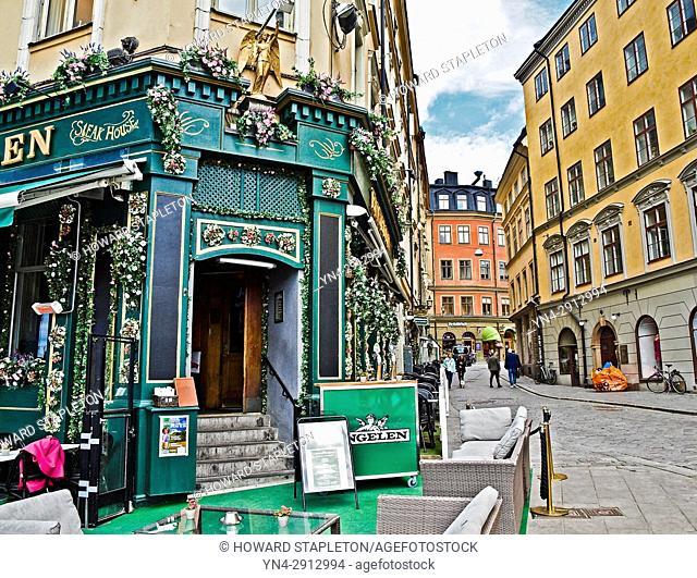 Engelen pub in Gamla Stan, Stockholm, Sweden