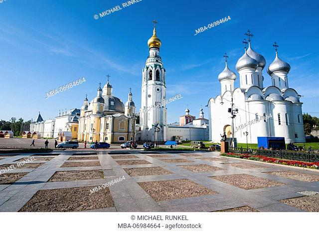 The Kremlin of Vologda, Vologda Oblast, Russia