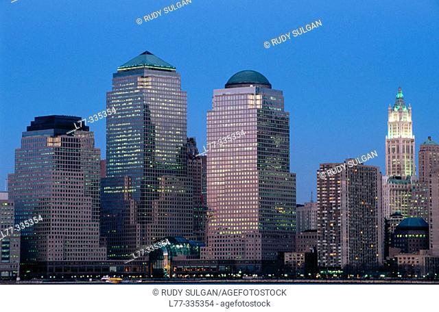 World Financial Center. New York City, USA