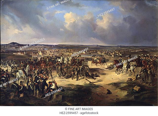 The Battle of Paris on March 17, 1814, 1834. Found in the collection of the State Central Artillery Museum, St. Petersburg