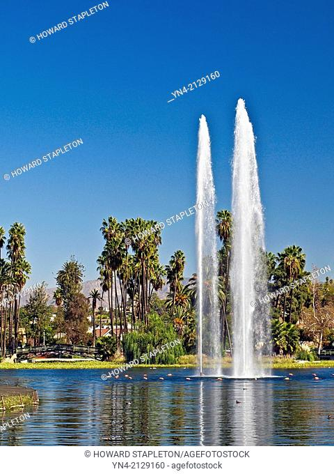 Echo Park near downtown Los Angeles. Renovation completed in 2013