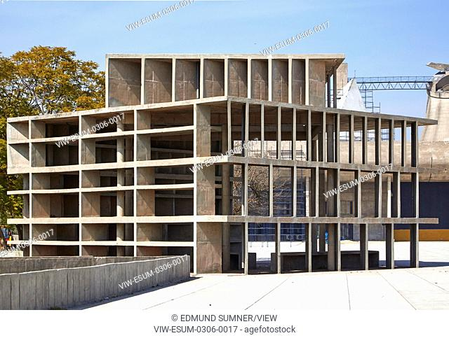 Palace of Assembly is a legislative assembly designed by noted architect Le Corbusier and located in Chandigarh, build around 19