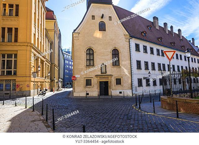 Church of Loreto Virgin Mary in Bratislava, Slovakia