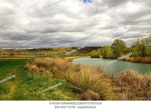 Tajo river, province of Madrid, Spain