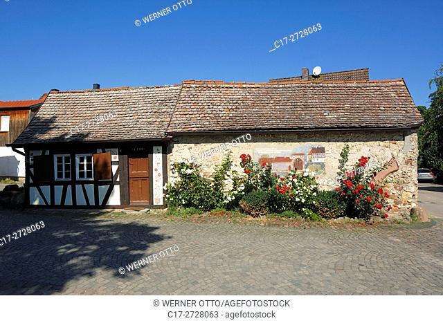 D-Worms, Rhine, Upper Rhine, Rhenish Hesse, Rhine-Neckar area, Rhine-Main district, Rhineland-Palatinate, D-Worms-Ibersheim, Ibersheim village