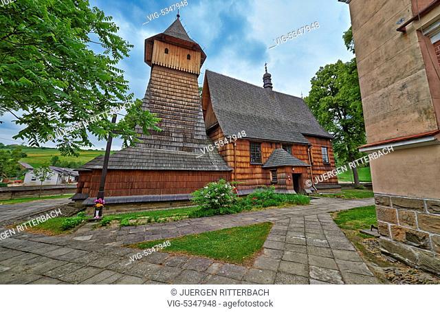St. Michael Archangel Church, Binarowa, Poland - Binarowa, Poland, 25/06/2015