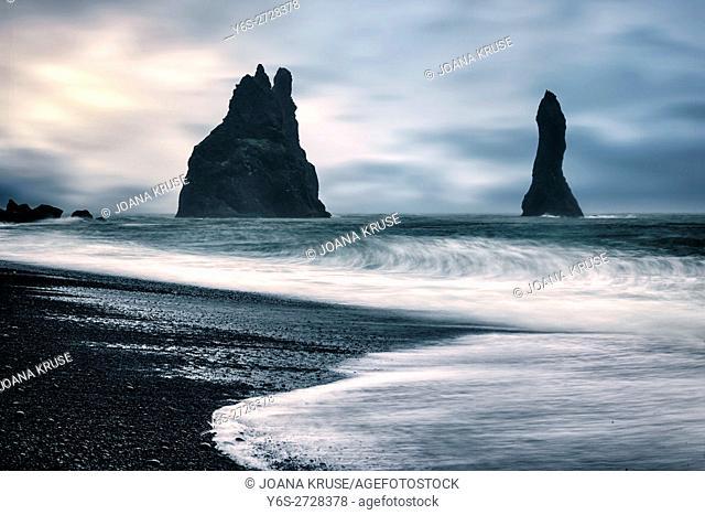 Vik i Myrdal, Black Beach, Iceland
