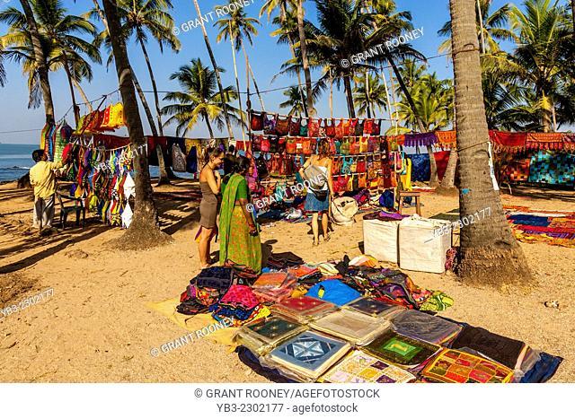Anjuna Flea Market, Anjuna, Goa, India