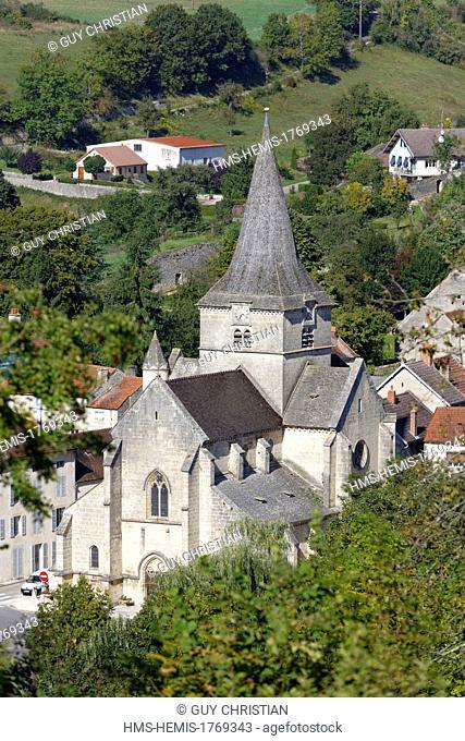 France, Cote d'Or, Aignay le Duc, Saint Pierre et Saint Paul church