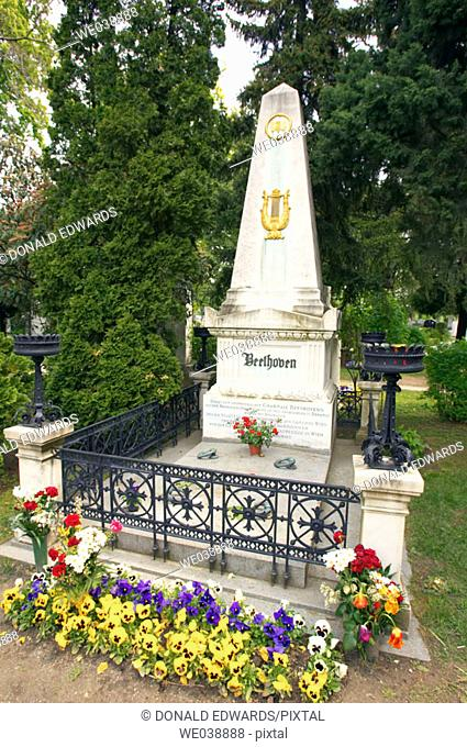 Ludwig Van Beethoven Grave, Vienna, Austria