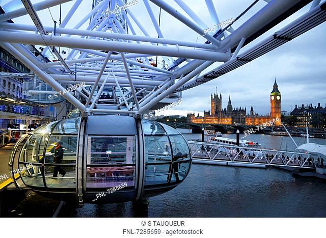 LondonEye, London, UK