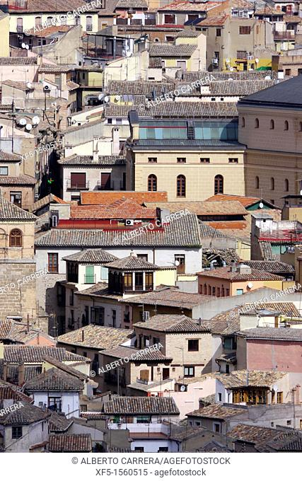 Old town view, Toledo, World Heritage Site by UNESCO,Castilla La Mancha, Spain, Europe
