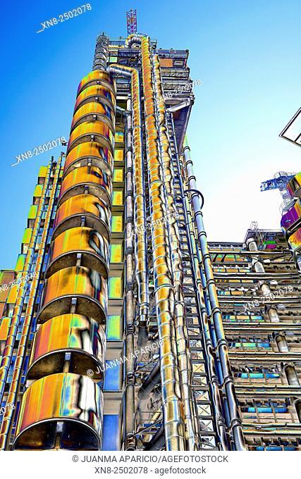 Modern Skyscraper, London, United Kingdom, Europe