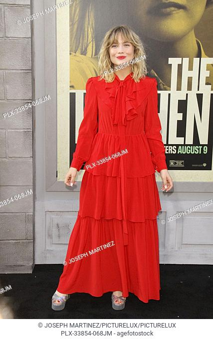 "Maddie Hasson at Warner Bros. Pictures' """"The Kitchen"""" Premiere held at the TCL Chinese Theatre, Los Angeles, CA, August 5, 2019"