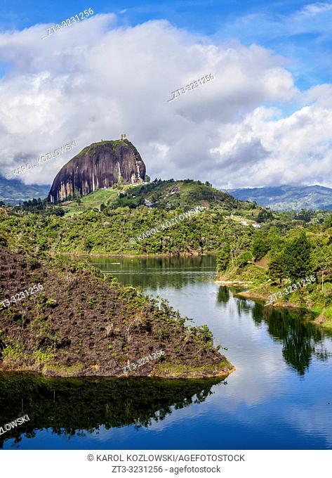 El Penon de Guatape, Rock of Guatape, Antioquia Department, Colombia