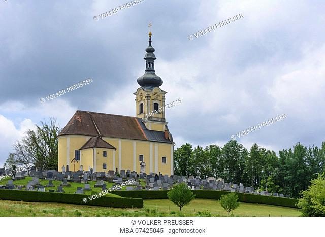 Sankt Martin an der Raab, church, Südburgenland, Burgenland, Austria