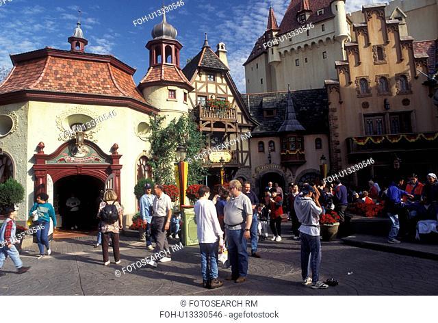 Epcot, Germany, Disney World, Orlando, FL, World Showcase, Lake Buena Vista, Florida, Germany presented at World Showcase at Epcot Center in Walt Disney World...