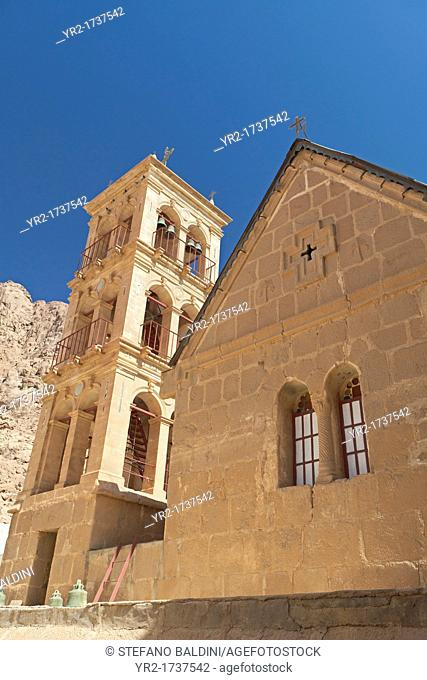 The church of the transfiguration at St Catherine monastery,Sinai, Egypt