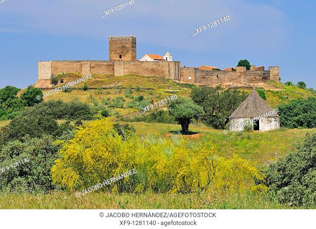 Castle of Noudar. Barrancos. Alentejo. Portugal