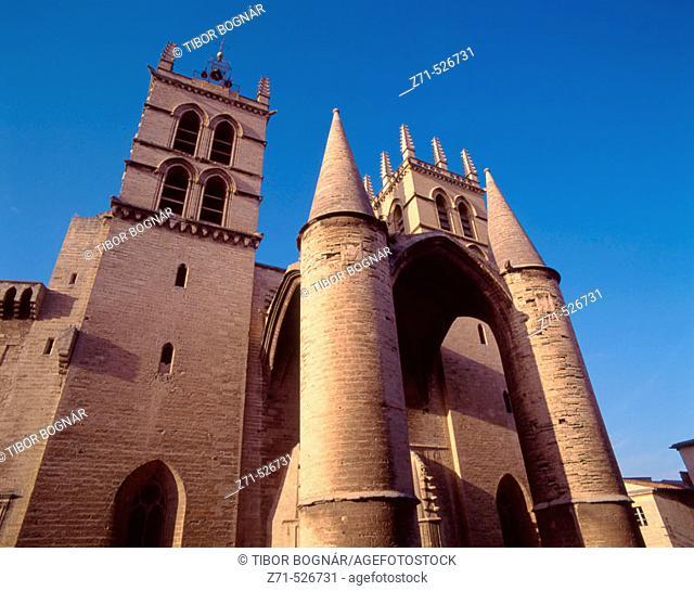 France, Languedoc, Montpellier, Cathédrale St-Pierre