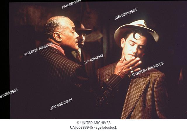 KANSAS CITY-5 Szene mit Seldom Seen (HARRY BELAFONTE) und Johnny O'Hara (DERMONT MULRONEY). Regie: Robert Altman aka. Kansas City / KANSAS CITY USA 1996