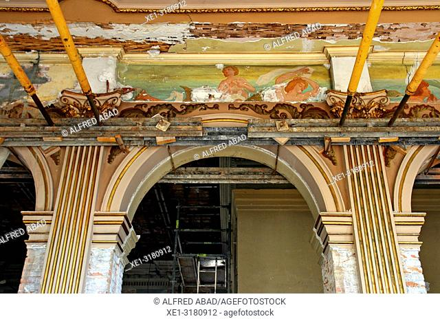 Refurbishment of the old Customs building, Port Vell, Barcelona, Catalonia, Spain