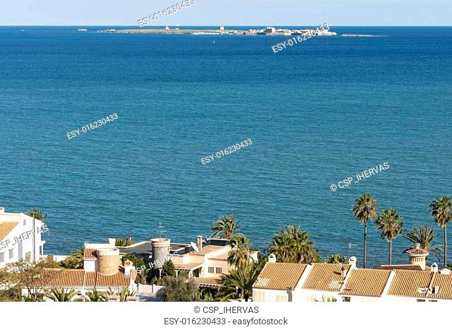 Views of Santa Pola