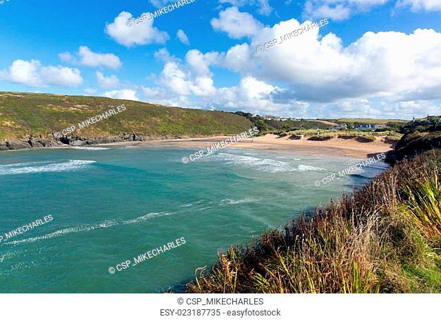 Porthcothan Bay Cornwall England UK