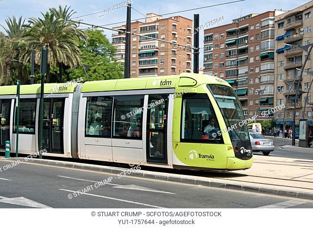 Murcia Tram Line 1, Spain  Opened in June 2011  A fleet of 11 Alstom Citidis 302 trams run from Estadio Nueva Condomina in the north-east to University of...